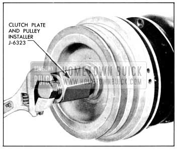 1956 Buick Installing Pulley