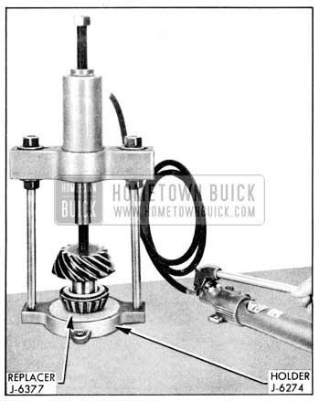 1956 Buick Installing Rear Pinion Bearing