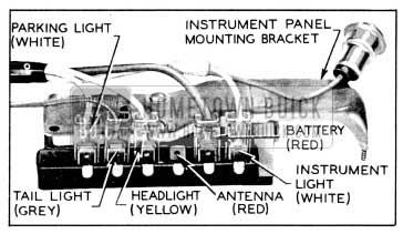 1956 Buick Light Switch