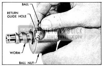 1956 Buick Loading Balls in Ball Nut