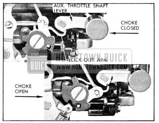 1956 Buick Lock-Out Arm Adjustment