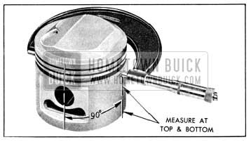 1956 Buick Measuring Piston with Micrometer