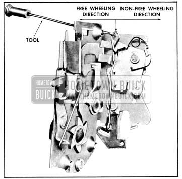 1956 Buick Model 41 Free-Wheeling Adjustment