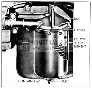 1956 Buick Oil Filter