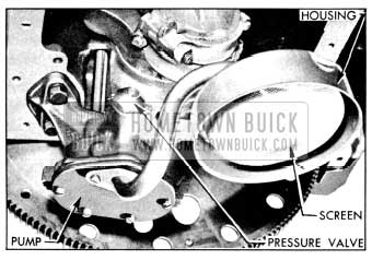 1956 Buick Oil Pump and Screen