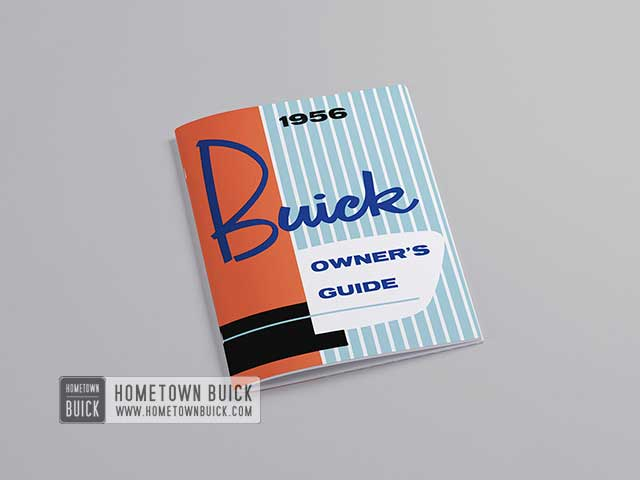 1956 Buick Owners Guide