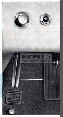 1956 Buick Parking Brake