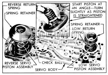 1956 Buick Parts Installed in Servo Body