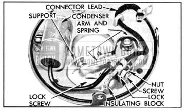 1956 Buick Parts Installed on Breaker Plate