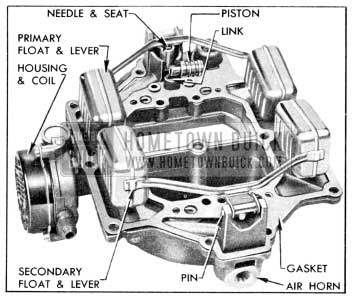 1956 Buick Parts on Air Carburetor Horn