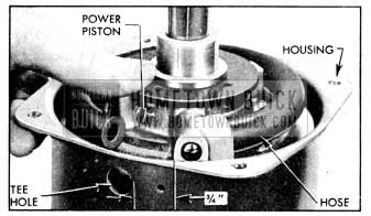 1956 Buick Position of Piston in Housing