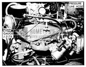 1956 Buick Pressure Gauge T-5176 Installed