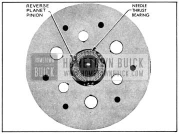 1956 Buick Reaction Gear Thrust Washer in Place