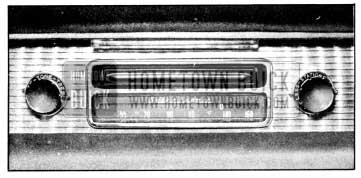 1956 Buick Receiver Controls-Selectronic Radio
