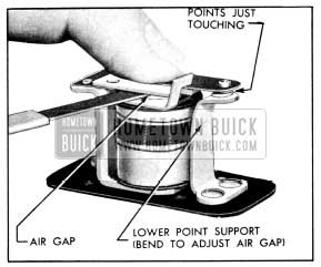 1956 Buick Relay Air Gap Adjustment
