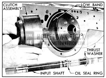 1956 Buick Removal of Clutch Assembly