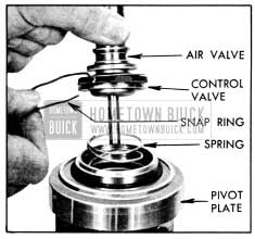 1956 Buick Removing Air Valve with Control Valve