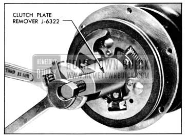 1956 Buick Removing Clutch Plates