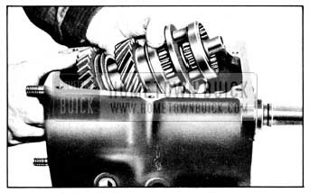 1956 Buick Removing Main Shaft Assembly