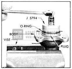 1956 Buick Removing Power Brake Cylinder Plug