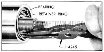 1956 Buick Removing Searing Retaining Ring