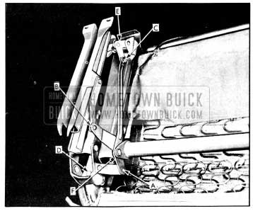 1956 Buick Removing Seat Adjuster