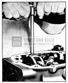 1956 Buick Removing Set Screw with Remover J 2895