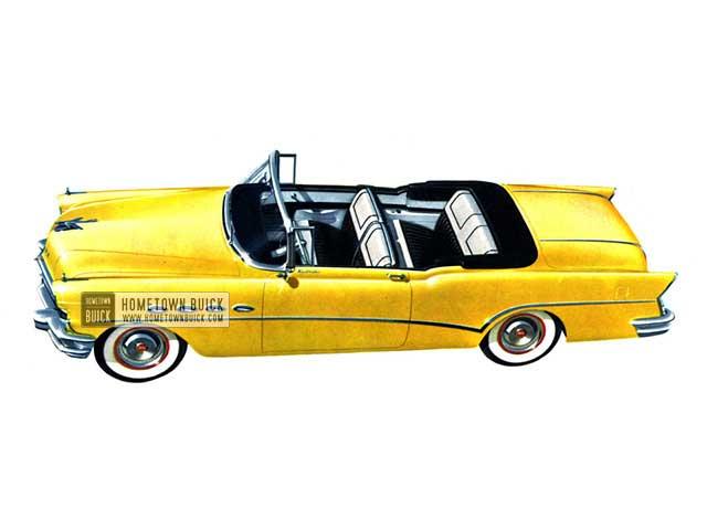 1956 Buick Roadmaster Convertible - Model 76C HB