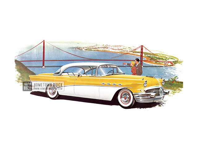 1956 Buick Roadmaster Riviera - Model 73 HB