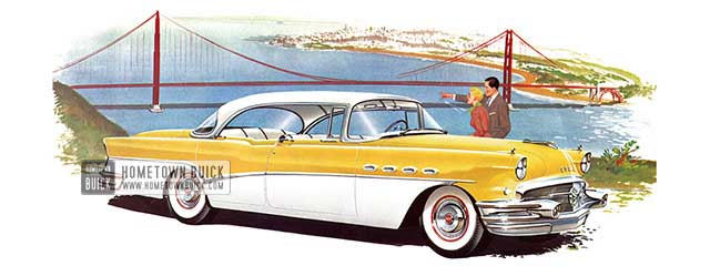 1956 Buick Roadmaster Riviera Sedan - Model 73