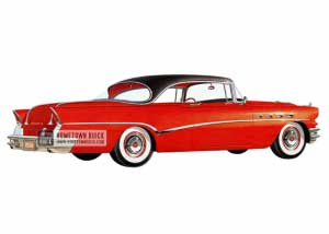 1956 Buick Roadmaster Riviera - Model 76R HB
