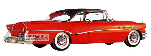 1956 Buick Roadmaster Riviera - Model 76R