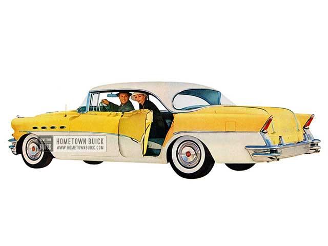 1956 Buick Roadmaster Riviera Sedan - Model 72R HB