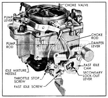 1956 Buick Rochester 4-Barrel Carburetor