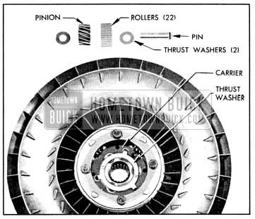 1956 Buick Second Turbine Parts