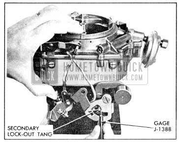 1956 Buick Secondary Contour Adjustment