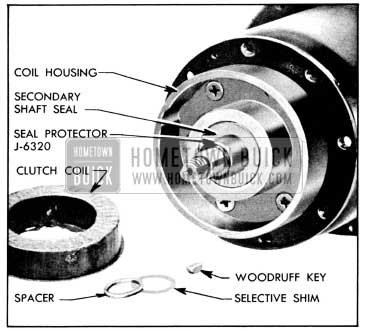 1956 Buick Secondary Shaft Seal and Protector