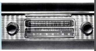 1956 Buick Selectronic Radio