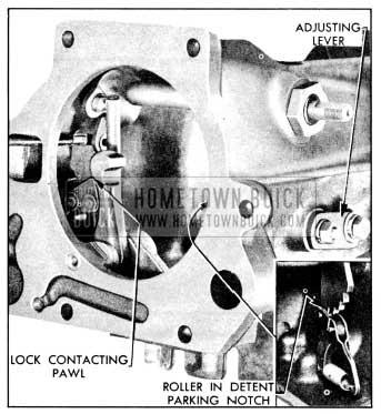 1956 Buick Shift Detent Adjustment