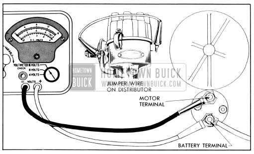 1956 Buick Solenoid Switch Contact Test Connections