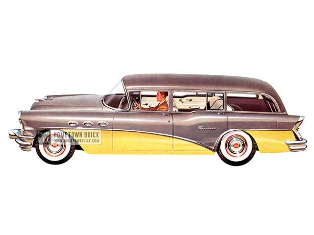 1956 Buick Special Estate Wagon - Model 49 HB