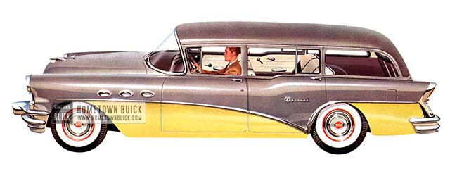 1956 Buick Special Estate Wagon - Model 49