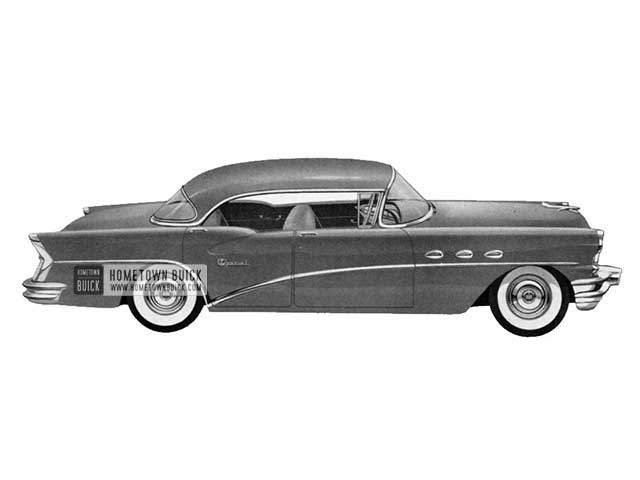 1956 Buick Special Riviera - Model 43 HB