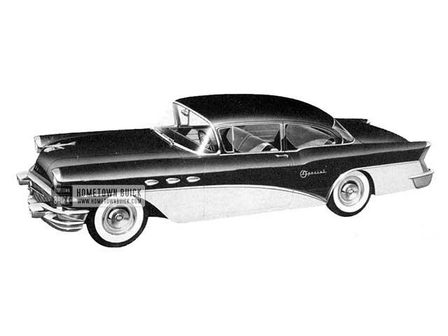 1956 Buick Special Sedan - Model 48 HB