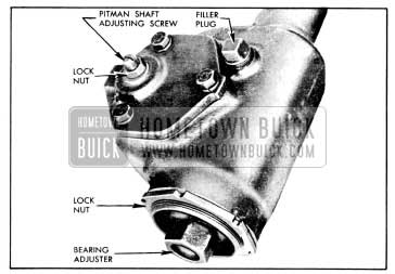 1956 Buick Steering Gear Adjustments