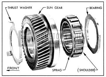 1956 Buick Sun Gear Parts