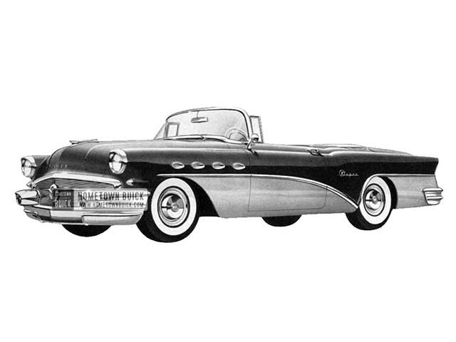 1956 Buick Super Convertible - Model 56C HB