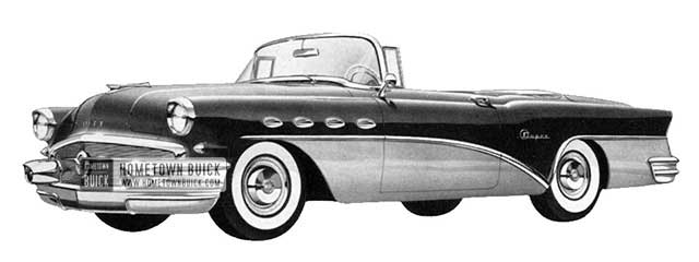 1956 Buick Super Convertible - Model 56C
