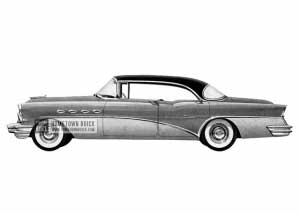 1956 Buick Super Riviera - Model 53 HB