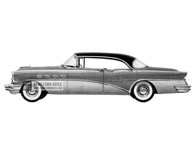 1956 Buick Super Riviera - Model 53 HB